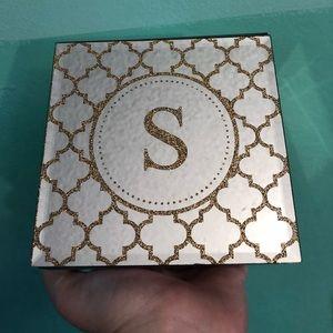 S Storage Jewelry Box